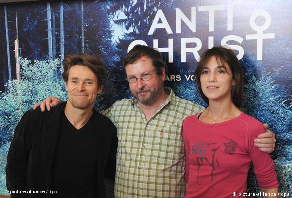 Lars von Trier und die Schauspielerin Charlotte Gainsbourg