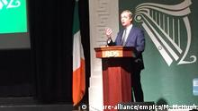 Irland Rede Nigel Farage in Dublin