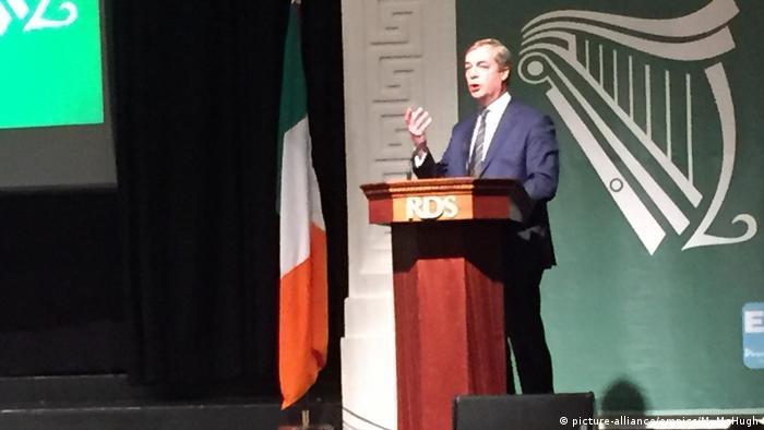 Nigel Farage in Dublin