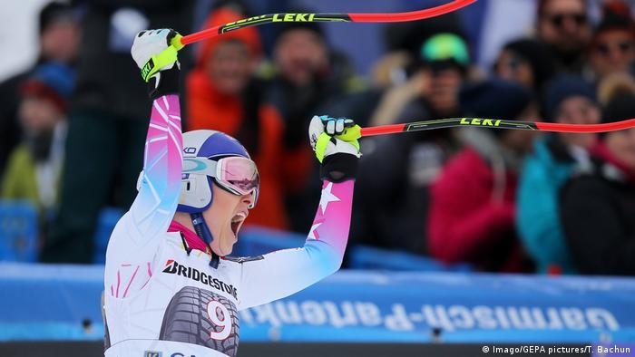 FIS Alpine Ski in Garmisch Partenkirchen Lindsey Vonn