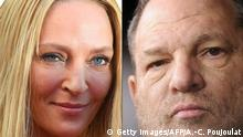 Uma Thurman und Harvey Weinstein