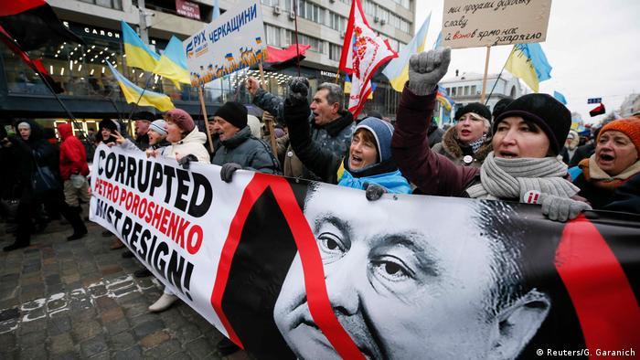Anti-government protest in Kyiv (Reuters/G. Garanich)