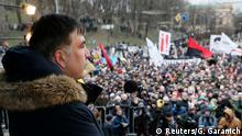 Ukraine Anti-Regierungsproteste Micheil Saakaschwili in Kiew