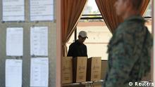 Ecuador Präsidentschaftswahlen in Quito