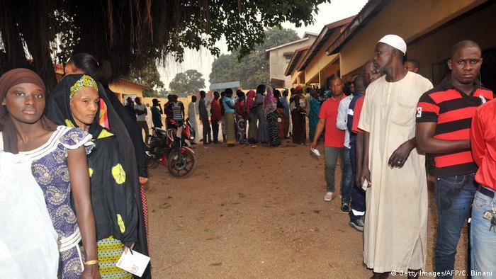 Guinea Wahlen in Conakry
