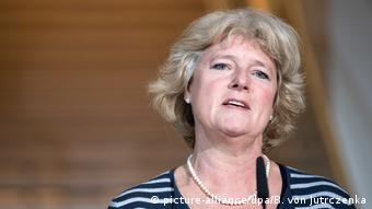 Deutschland Koalitionsverhandlungen von Union und SPD Monika Grütter