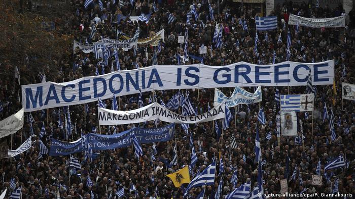 Griechenland Streit um den Namen Mazedonien