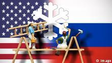 Symbolbild USA Russland Konflikt