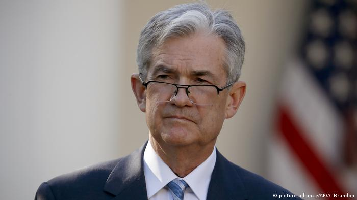 Jerome Powell was President Donald Trump's pick for Fed Chairman