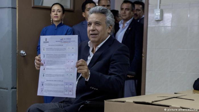 Ecuador Referendum Lenin Moreno (picture-alliance/Zuma)