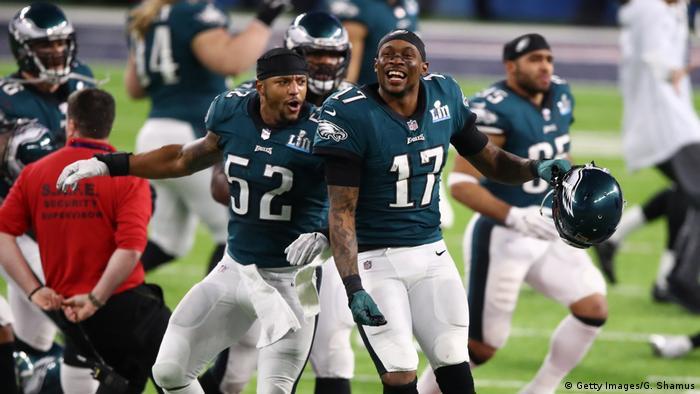 Super Bowl LII - Philadelphia Eagles v New England Patriots Jubel