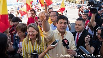 Costa Rica Elections Präsidentschaftswahlen Carlos Alvarado
