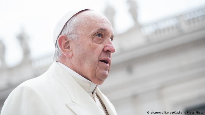 Papst Franziskus (picture-alliance/Catholic Press Photo)