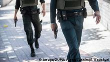 Iran Polizei Symbolbild (Imago/ZUMA Press/Tasnim/E. Kouchari)