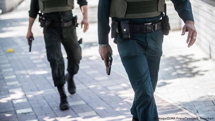 Iran Polizei Symbolbild (Imago/ZUMA Press/Tasnim/E. Kouchari)