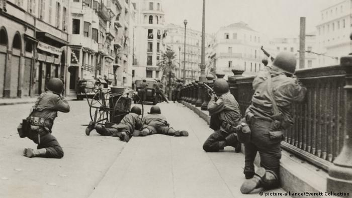 In 1942, American and British forces invaded Algeria while 400 mostly Jewish French resistance fighters staged a coup in the capital Algiers
