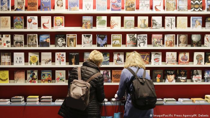 Deutschland Frankfurt Buchmesse (Imago/Pacific Press Agency/M. Debets)