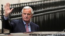 Großbritannien London Brexit Gespräche Michel Barnier