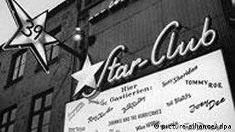 Der 'Star-Club' auf der Großen Freiheit im Hamburger Vergnügungsviertel St. Pauli, in der schon Musikgrößen wie The Beatles, Ray Charles, Jerry Lee Lewis und Fats Domino auftraten.
