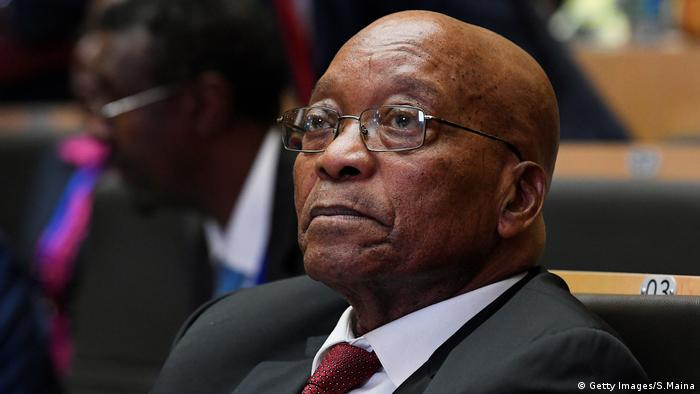 Zuma's conditions for stepping down as president