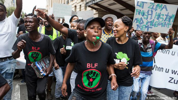 Südafrika, Black First Land First (BLF) (Getty Images/W.de Wet)