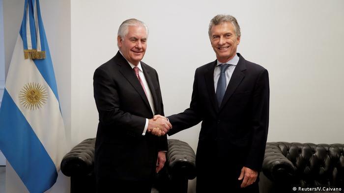 ARGENTINA: Argentina y EE.UU. refuerzan lazos económicos y de seguridad