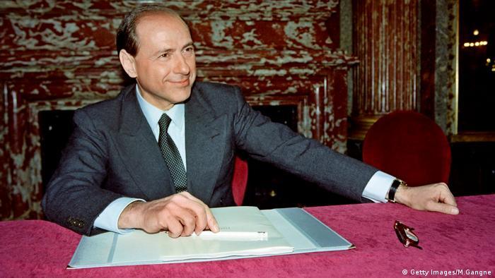 Silvio Berlusconi in 1992