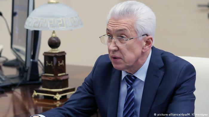 Исполняющий обязанности главы Дагестана Владимир Васильев