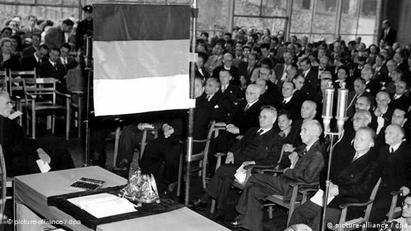 conference working on the Basic Law in 1949
