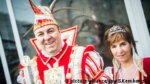 Berlin carnival prunce and princess (picture-alliance/dpa/S.Kembowski)