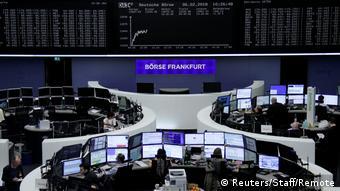 Франкфуртская биржа в ФРГ
