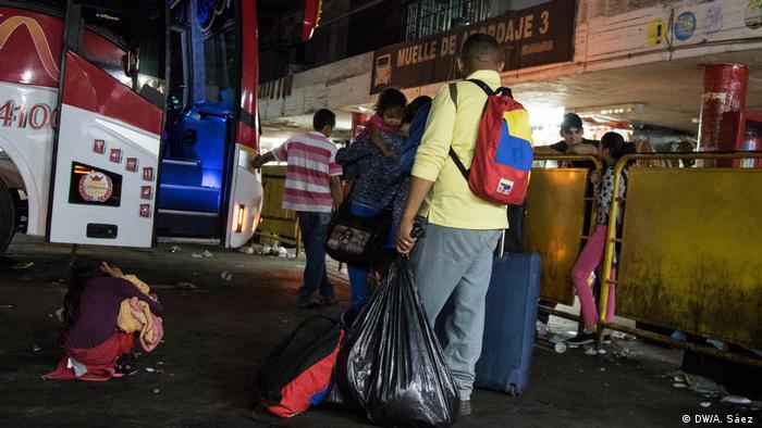 Kolumbien Cúcuta Grenze Venezuela | Cúcuta - Grenzsitutation (DW/A. Sáez )