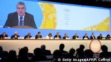 Olympisches Komitee IOC - Präsident Thomas Bach