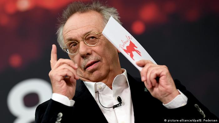 Press conference of the 68th Berlinale with Dieter Kosslick (picture-alliance/dpa/B. Pedersen)