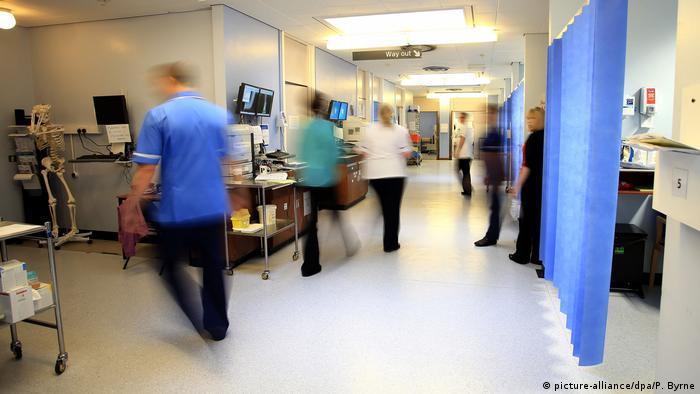 Krankenhaus in London