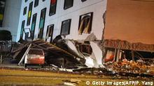 Taiwan Erdbeben Marshal-Hotel in Hualien