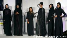 UAE Arabische Fashion-Show
