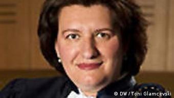 Mirjana Lazarova Trajkovska - Richterin am Europäischen Menschenrechtsgerichtshof in Straßburg