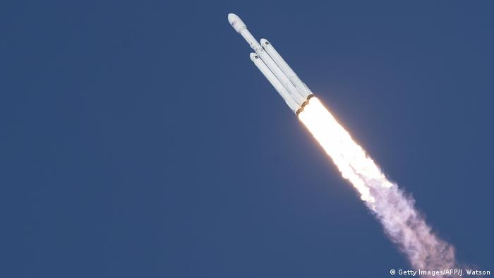 USA SpaceX Raketenstart (Getty Images/AFP/J. Watson)