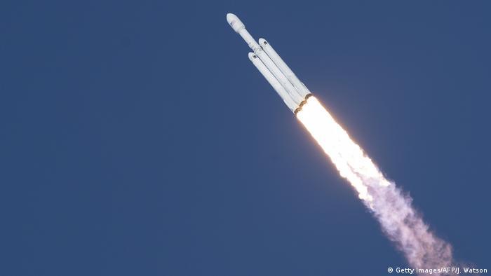 USA SpaceX Raketenstart (Getty Images/AFP/J. Watson)