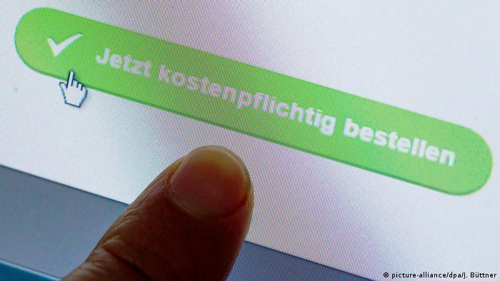 Купівля в інтернеті (picture-alliance/dpa/J. Büttner)