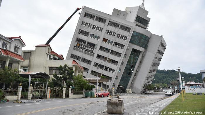 Taiwan Erdbeben (picture-alliance/ZUMA Wire/Y. Yuewei)