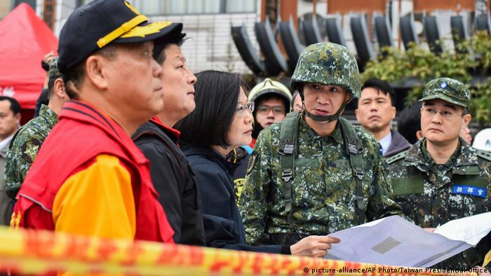 Taiwan Erdbeben (picture-alliance/AP Photo/Taiwan Presidential Office)