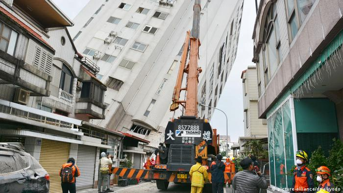 Taiwan Erdbeben (picture-alliance/dpa/kyodo)