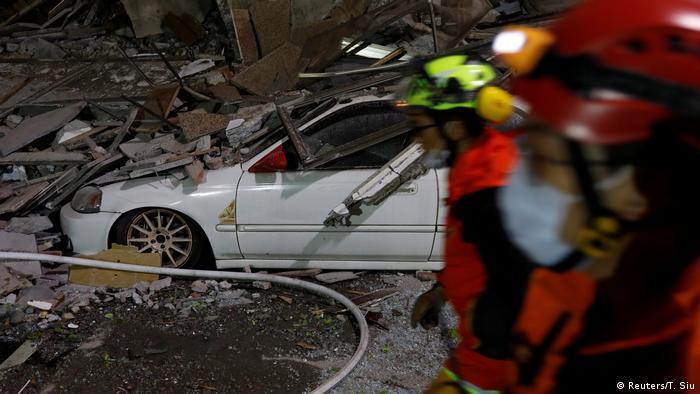 Taiwan Erdbeben (Reuters/T. Siu)