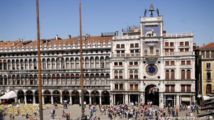 Los relojes más bellos de Europa. Torre dell'orologio, Venecia