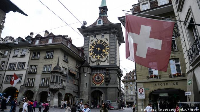 Switzerland - Zytglogge clock tower in Bern (picture-alliance/dpa/Sputnik/A. Filippov)