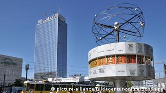 The World Clock on Alexanderplatz