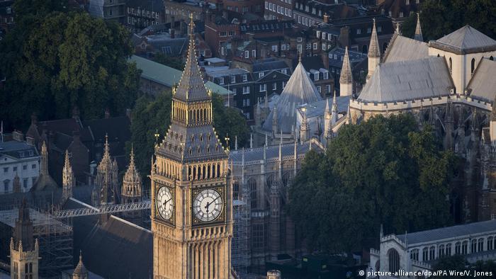 Los relojes más bellos de Europa. Big Ben en Londres, Gran Bretaña