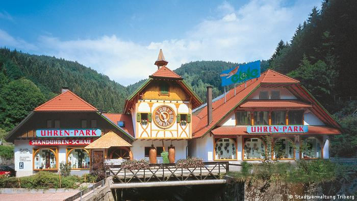 Germany -The world's largest cuckoo clock in Triberg (Stadtverwaltung Triberg)